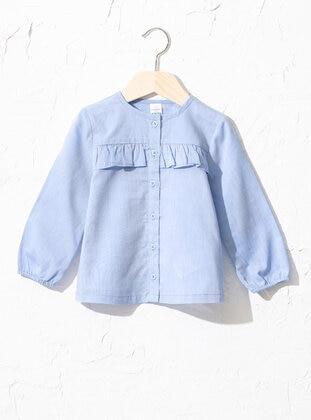 Blue - baby shirts - LC WAIKIKI