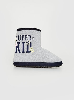 Gray - Kids Home Shoes