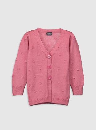Pink - Girls` Cardigan