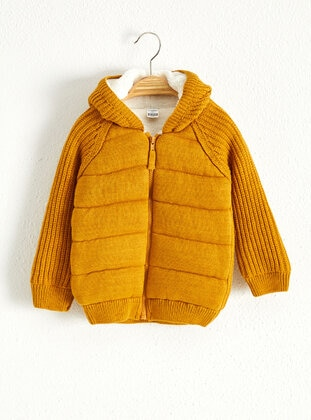 Yellow - Baby Cardigan - LC WAIKIKI