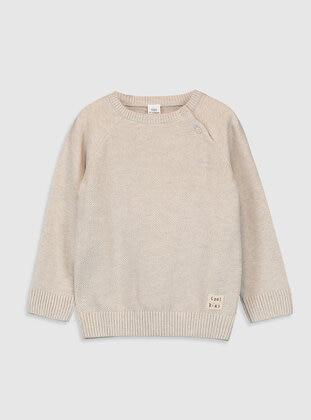 Ecru - Boys` Pullover