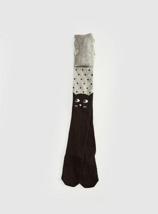Gray - Girls` Socks - LC WAIKIKI