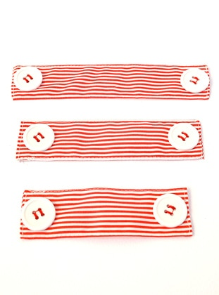 Stripe - Red - Mask Attachment
