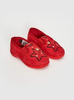 Red - Kids Home Shoes