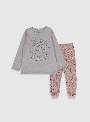 Beige - Girls` Pyjamas - LC WAIKIKI
