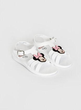 White - Girls` Sandals - LC WAIKIKI