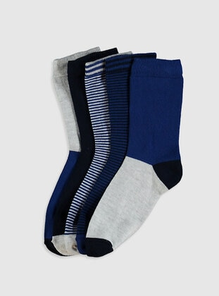 Navy Blue - Socks - LC WAIKIKI