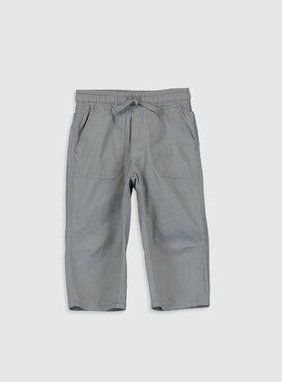 Gray - Boys` Shorts - LC WAIKIKI