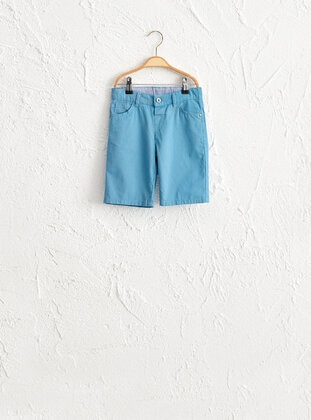 Blue - Boys` Shorts