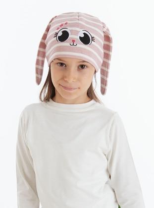 Pink - Girls` Hat - Denokids