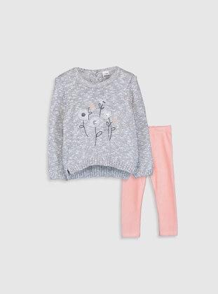 Gray - Baby Suit - LC WAIKIKI