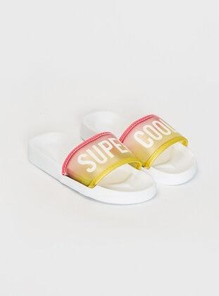 Multi - Girls` Sandals