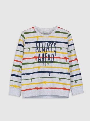 Gray - Boys` T-Shirt - LC WAIKIKI