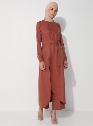 Cinnamon - Stripe - Unlined -  - Suit