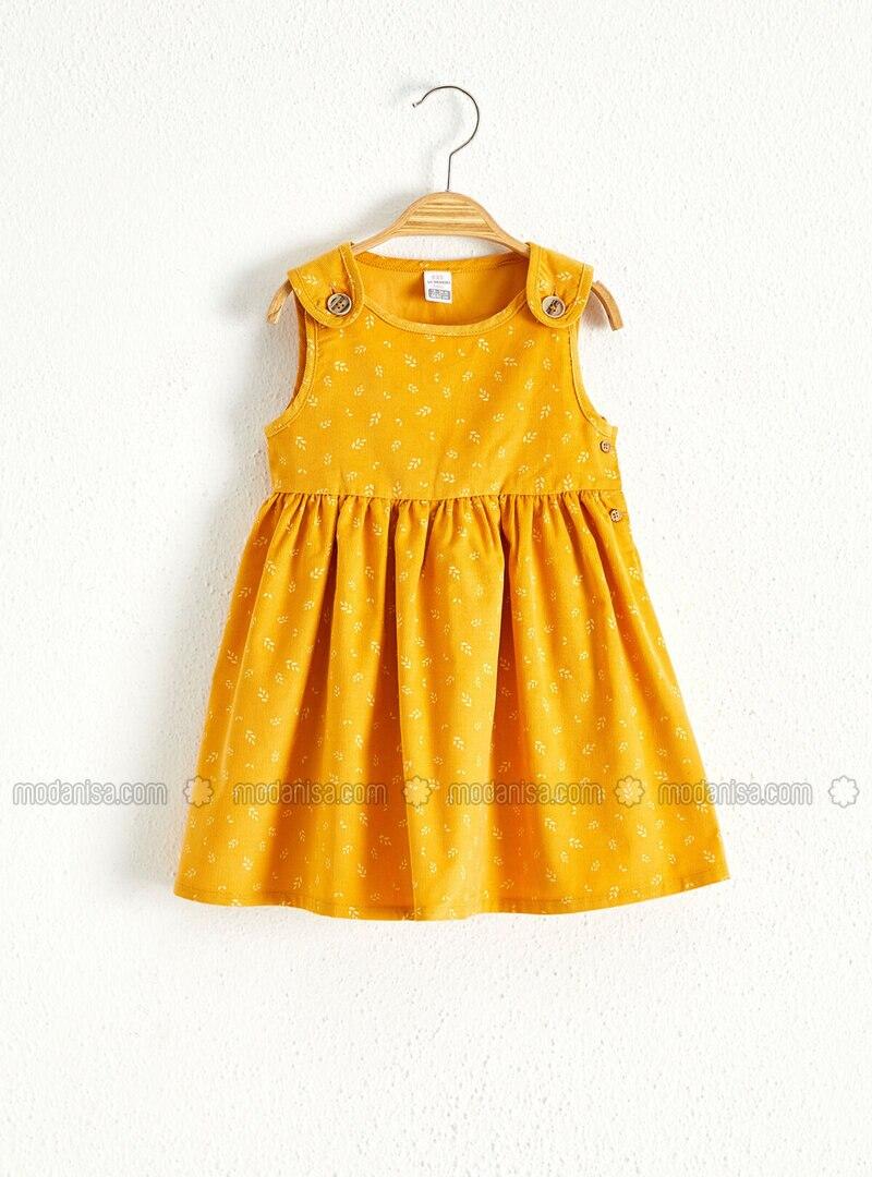 Yellow - Baby Dress