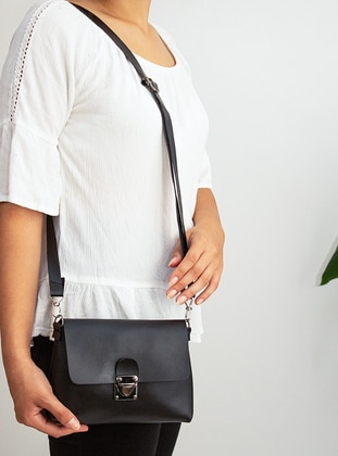 Black - Crossbody - Satchel - Shoulder Bags