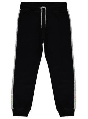Black - Girls` Sweatpants - Civil
