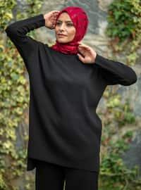 Black - Acrylic -  - Knit Suits