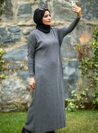 Anthracite - Knit Dresses