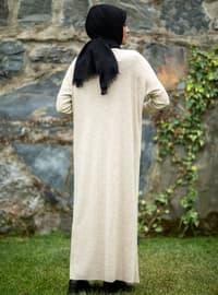 Stone - Crew neck - Acrylic - - Knit Dresses