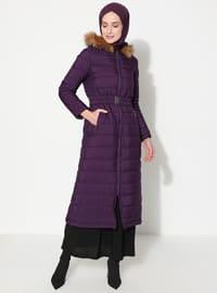 Plum - Fully Lined - Coat