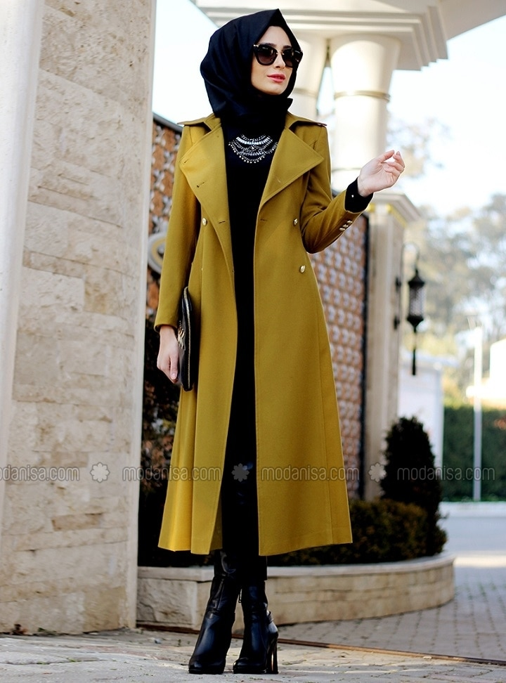 Mustard - Yellow - Fully Lined - Shawl Collar - Yellow - Fully Lined - Shawl Collar - Yellow - Fully Lined - Shawl Collar - Yellow - Fully Lined - Shawl Collar - Coat