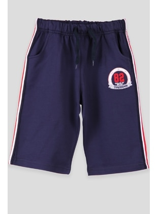 Navy Blue - Boys` Shorts - Breeze Girls&Boys