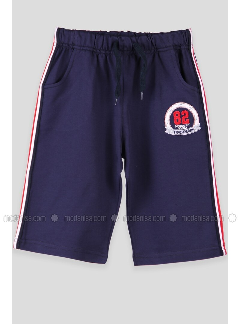 Navy Blue - Boys` Shorts