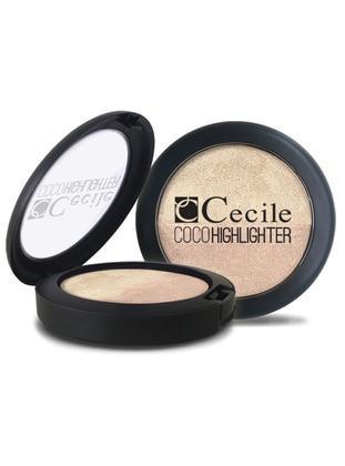 Coco Highlighter Blusher - Multicolor - CECILE