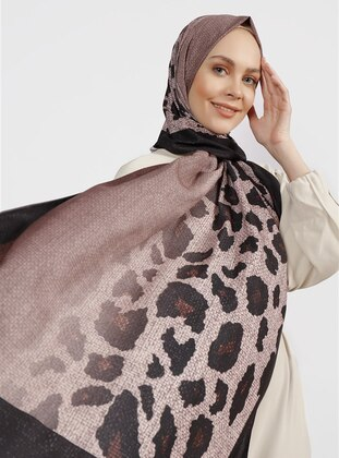 Mink - Leopard - Instant Scarf