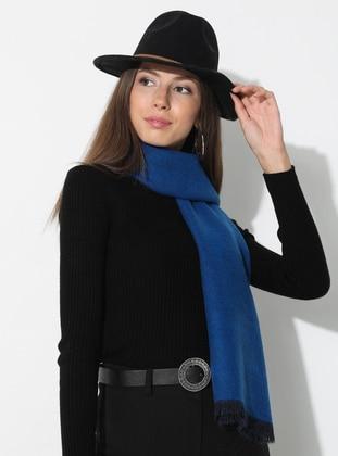 Saxe - Black - Plain - Acrylic - Shawl