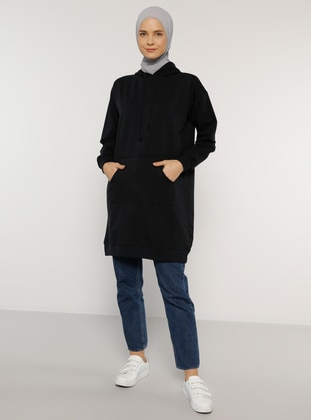 Navy Blue - - Tunic
