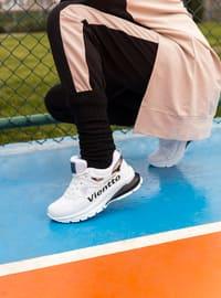White - Black - Sport - Sports Shoes - Ayakkabı Modası