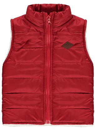 Red - Boys` Vest - Civil