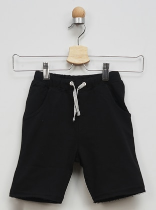 - Unlined - Black - Baby Shorts