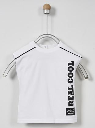 White - Unlined - - Crew neck - Multi - Baby Underwear