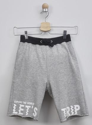 - Unlined - Gray - Boys` Shorts