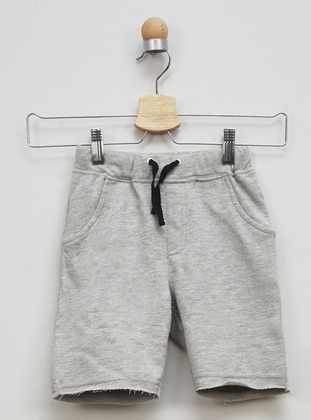 - Unlined - Gray - Boys` Shorts