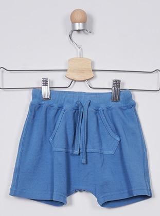 - Unlined - Indigo - Baby Shorts