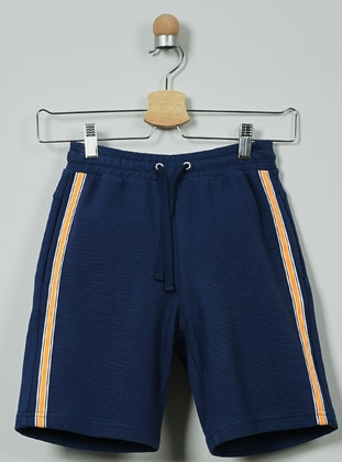 - Unlined - Navy Blue - Boys` Shorts