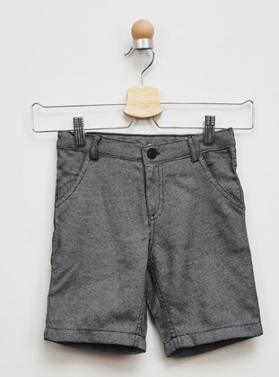 - Unlined - Black - Boys` Shorts