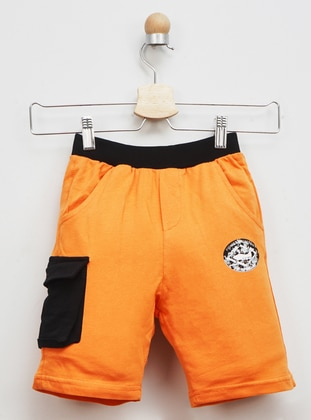 - Unlined - Orange - Boys` Shorts