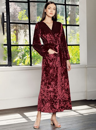 Maroon - Morning Robe