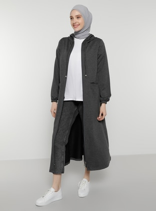 Anthracite - Unlined - Topcoat