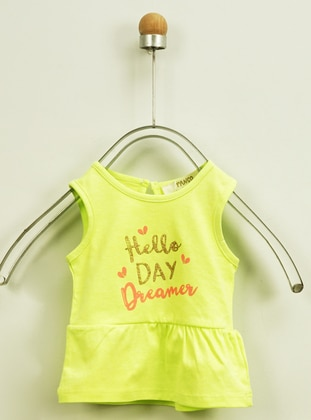 Green - Unlined - - Crew neck - Multi - Baby Underwear