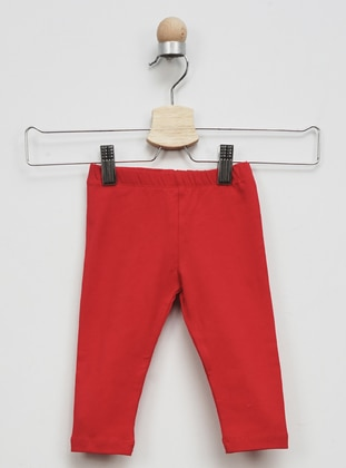- Red - baby tights