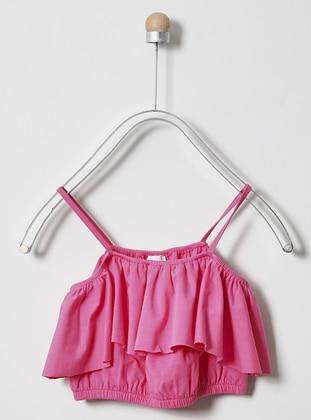 - Unlined - Fuchsia - Girls` Underwear