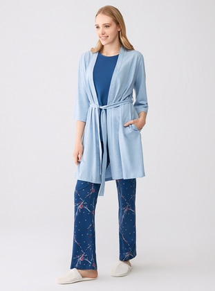 Blue -  - Morning Robe