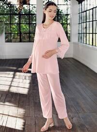 Powder -  - Viscose - Maternity Pyjamas