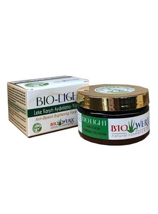 100% Herbal Cream - Bio-Light Care Cream - 100 ml - Illuminating, Cleansing and Moisturizing Effect